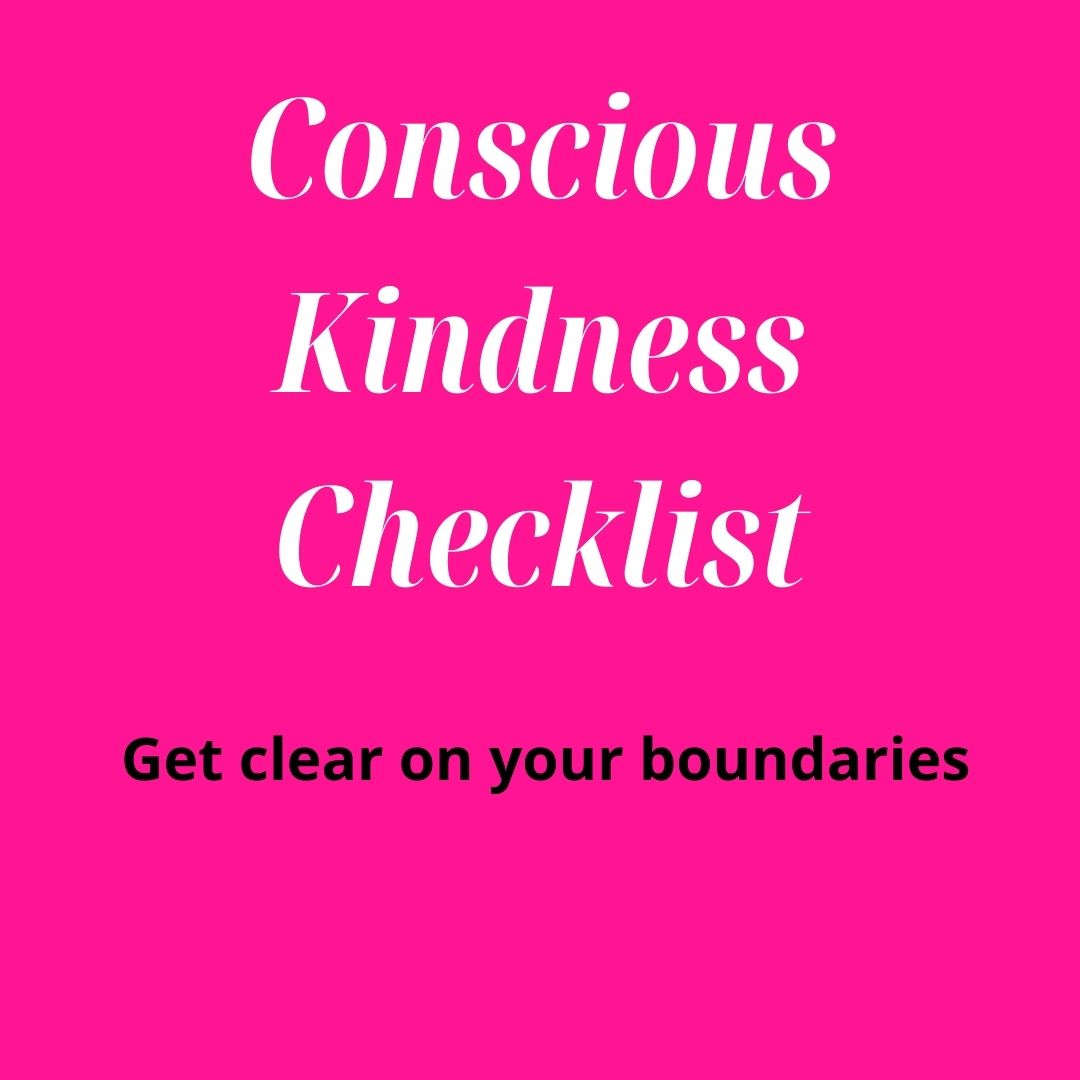 Get clear on your boundaries