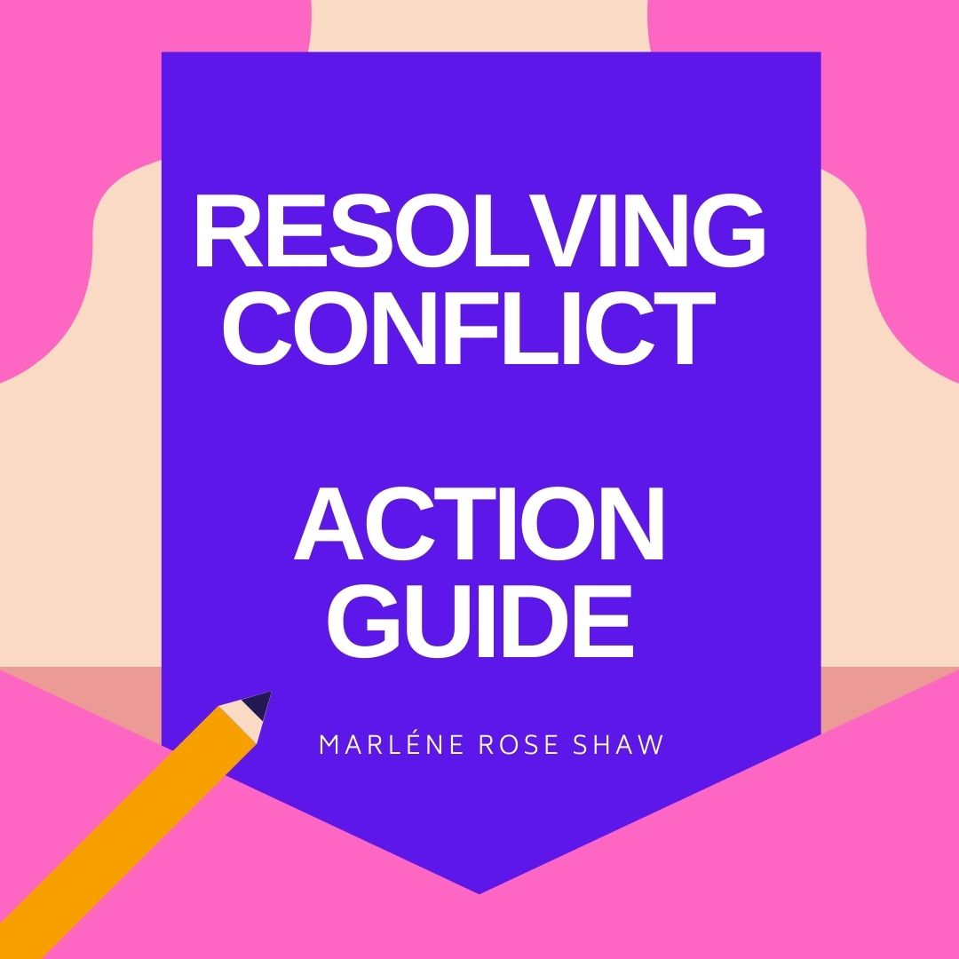Action Guide How To Resolve Conflict